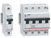 Модульные автоматические выключатели Legrand